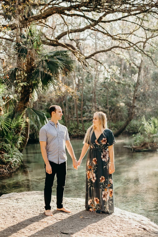 Florida-springs-orlando-engagement-couple